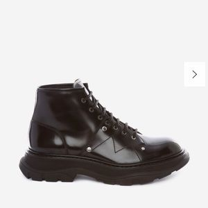 Alexander McQueen TREAD LACE-UP BOOT size 41